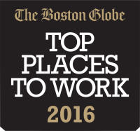 The Boston Globe - Top Places to Work 2016